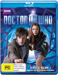 Dr Who Series 5 Volume 1 Blu-ray