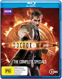 Dr Who Complete Specials Blu-ray