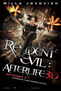 Resident Evil - Afterlife poster
