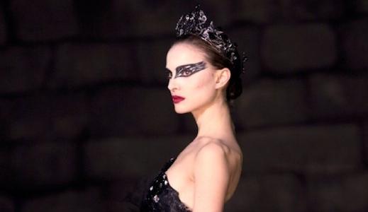 Natalie Portman as the 'Black Swan'
