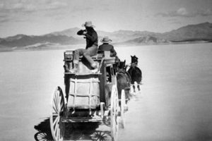 On location with Stagecoach (1939)