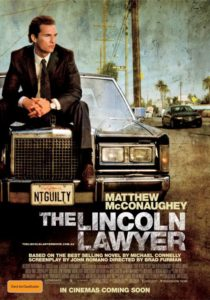 The Lincoln Lawyer poster - Australia