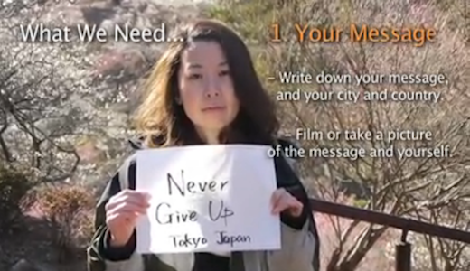 Message Movie for Japan