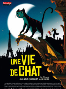 Un Vie de Chat (A Cat in Paris) Poster