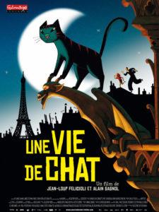 Un Vie de Chat (A Cat in Paris) Poster