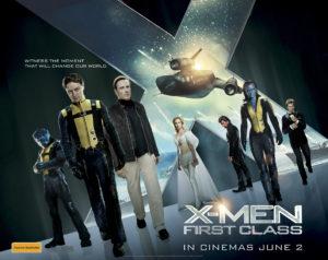 X-Men: First Class - Sheet artwork - Australia
