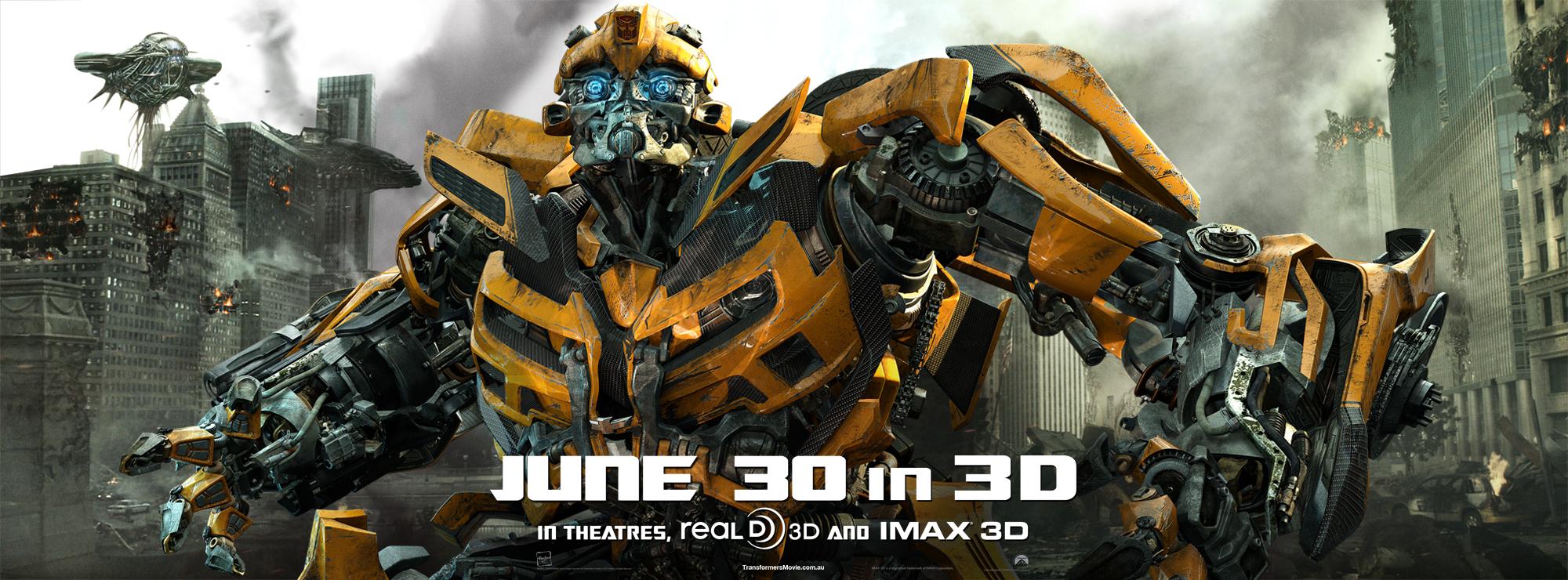 Transformers: Dark of the Moon - Bumblebee Banner