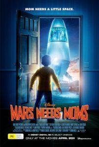 Mars Needs Moms poster - Australia