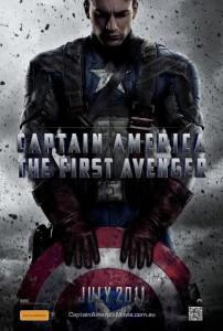 Captain American: The First Avenger Poster Australia