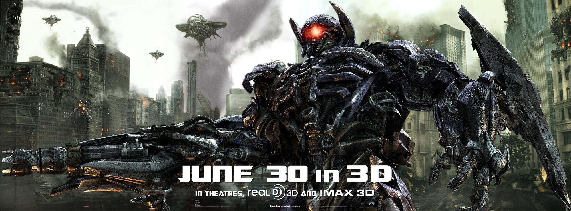 Transformers: Dark of the Moon - Shockwave Banner