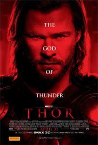 Thor poster - Australia