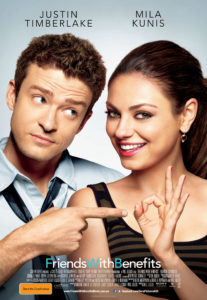 Friends With Benefits poster - Australia
