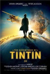 The Adventures of Tin Tin - Globe poster