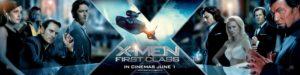 X-Men: First Class character banner
