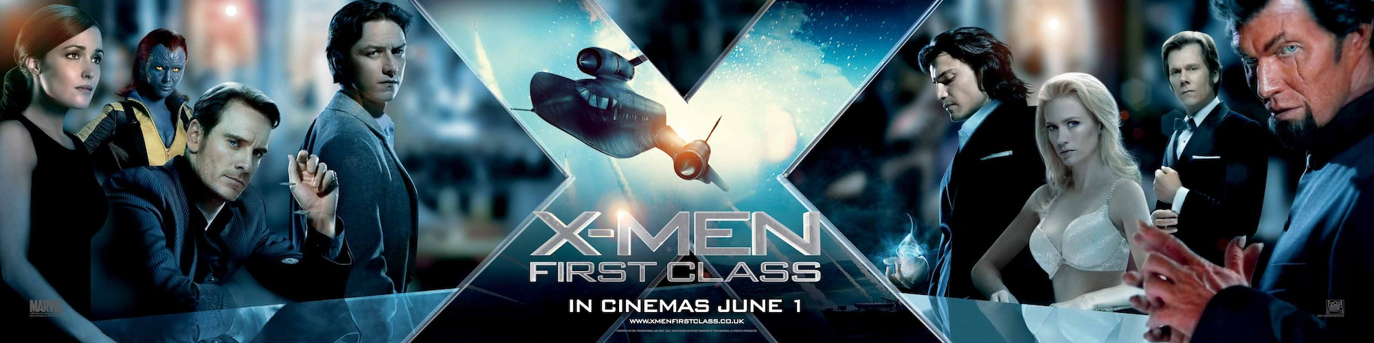 X-Men - First Class Banner