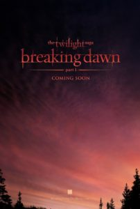 THE TWILIGHT SAGA: BREAKING DAWN-PART 1 Teaser Poster