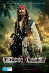 Pirates of the Caribbean: On Stranger Tides - Australian poster