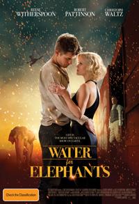 Water for Elephants - Australian poster