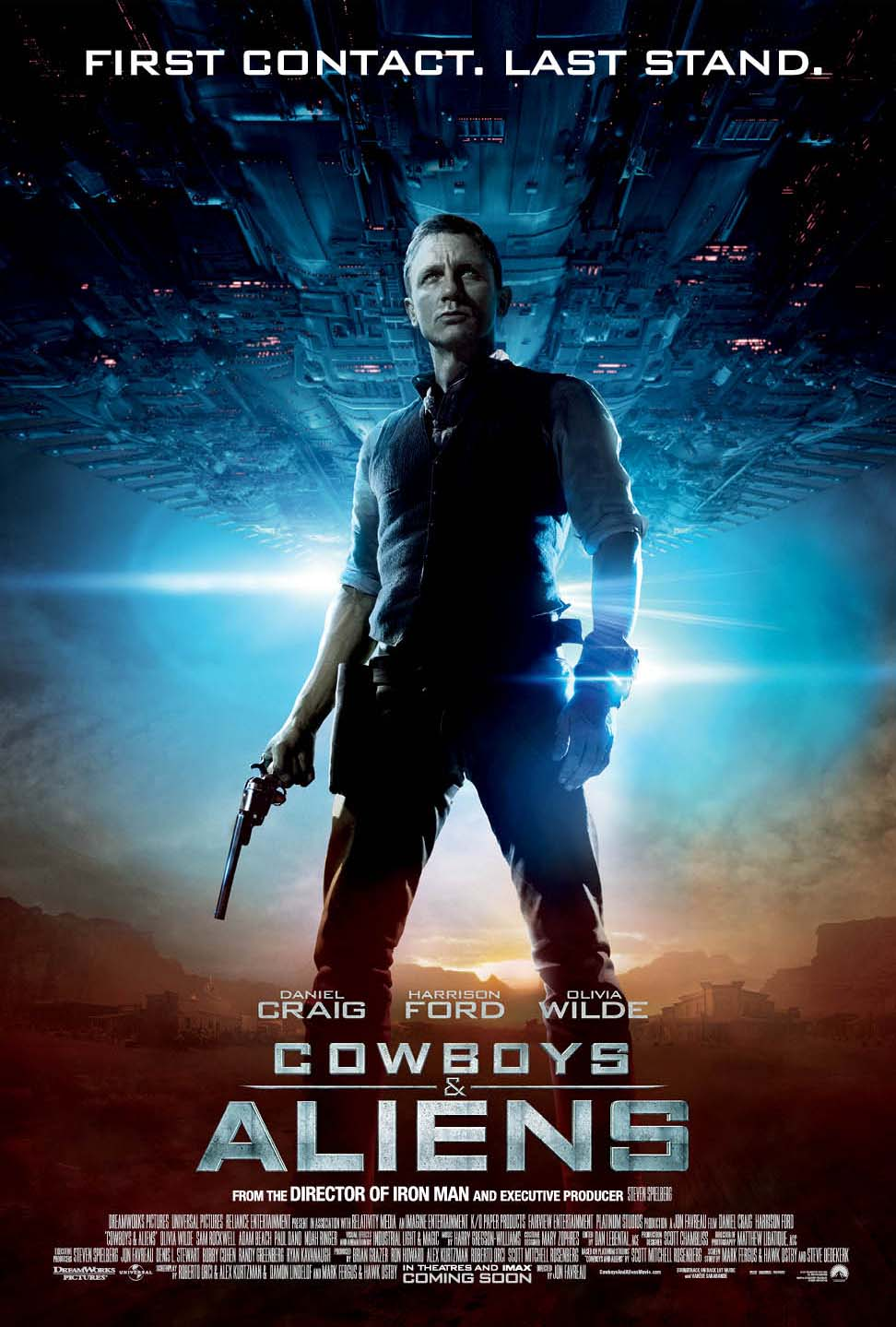 Cowboys and Aliens (International One Sheet) Daniel Craig poster