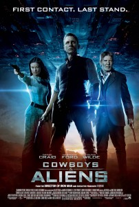 Cowboys and Aliens International One Sheet Group poster