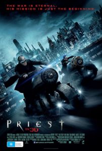 Priest poster - Australia