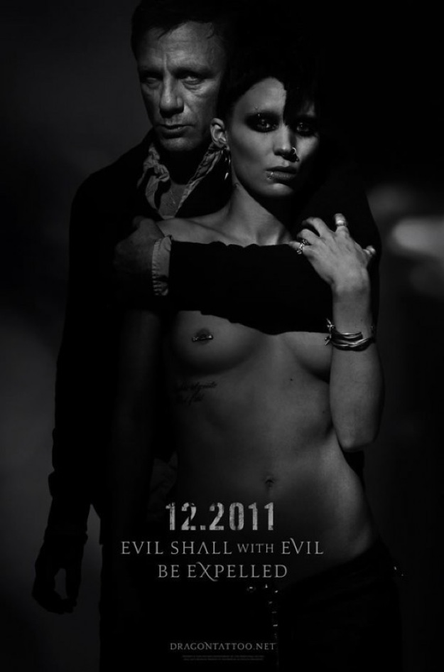 The Girl with the Dragon Tattoo (2011) - Uncensored poster