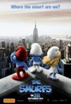 The Smurfs 3D poster