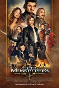 The Three Musketeers (2011) poster