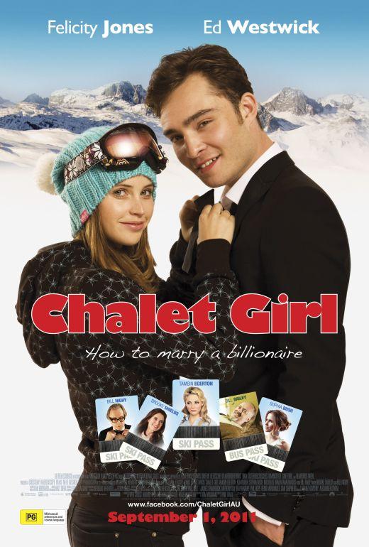 Chalet Girl poster Australia