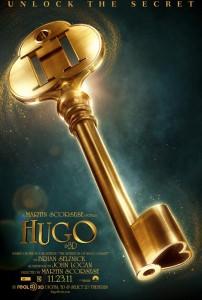 Hugo in 3D poster