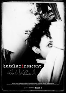 Autoluminescent poster (Roland S Howard)