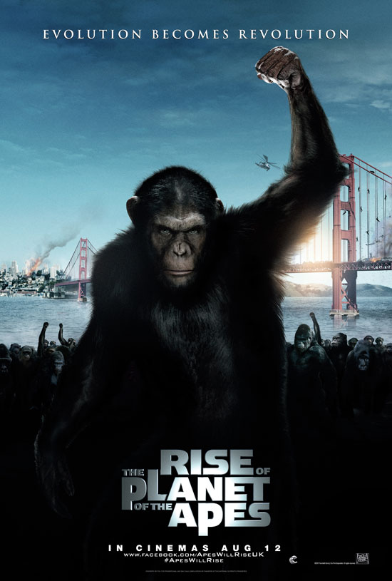Rise of the Planet of the Apes poster (International)