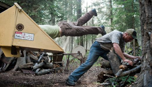 Tucker & Dale Vs. Evil - Wood-chipper