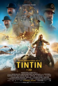The Adventures of Tintin: The Secret of the Unicorn - Final International poster