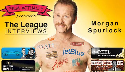 The League Interviews Morgan Spurlock
