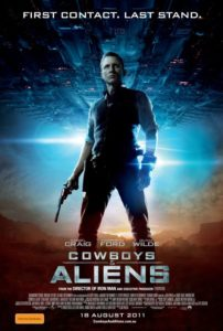 Cowboys and Aliens - Solo poster Australia