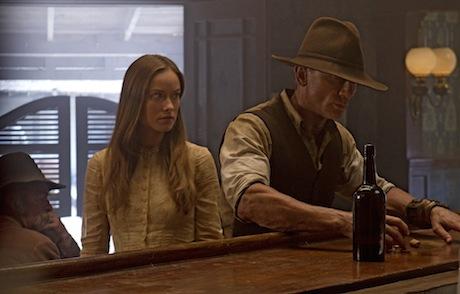Cowboys and Aliens - Olivia Wilde and Daniel Craig