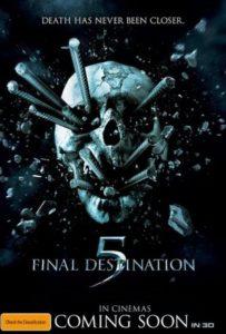 Final Destination 5 - Australian poster