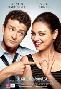 Friends with Benefits - Australian poster