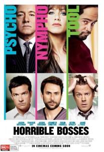 Horrible Bosses - Australian poster