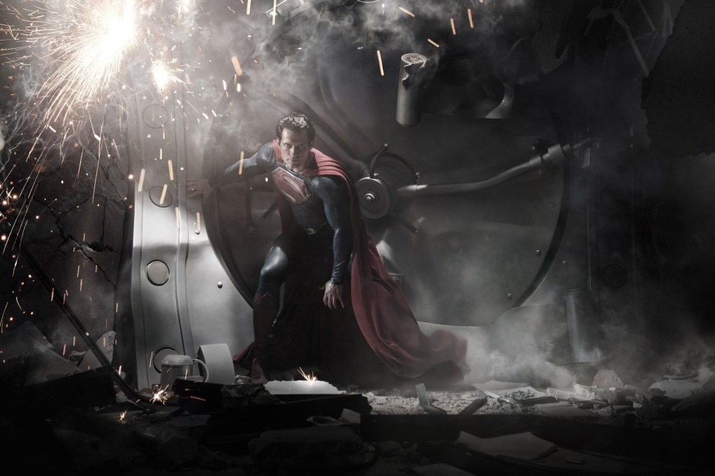Henry Cavill as Superman in Warner's The Man of Steel