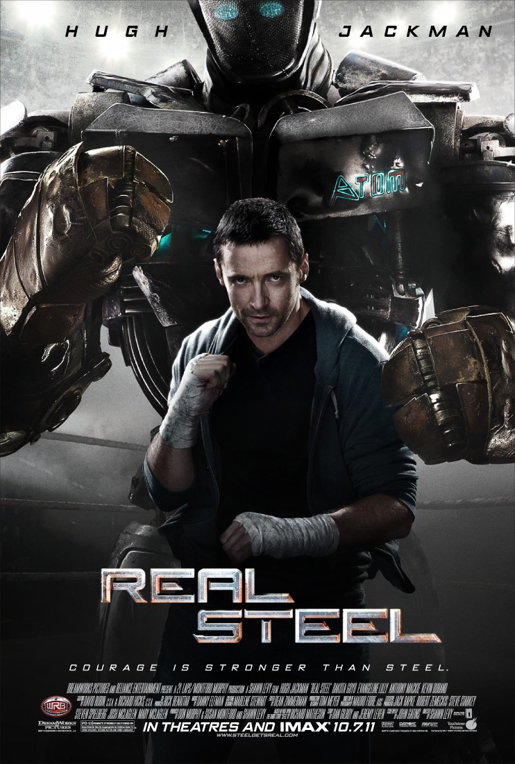Real Steel - US poster