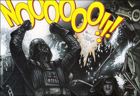 Star Wars - Darth Vader - Nooooo