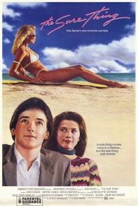 The Sure Thing (1985) poster
