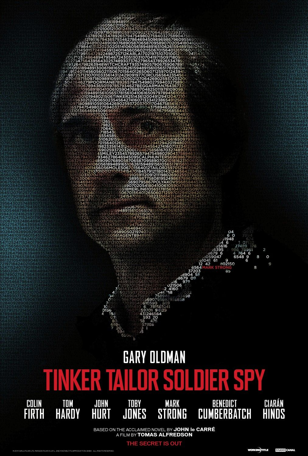 Tinker Tailor Soldier Spy poster - Mark Strong