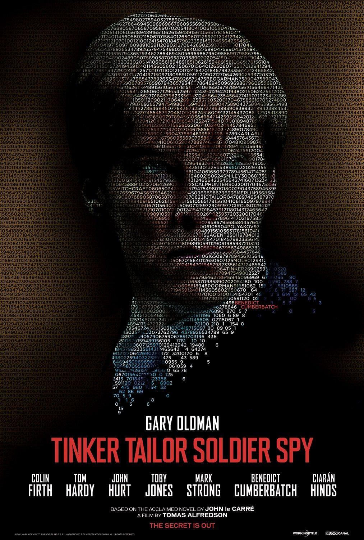 Tinker Tailor Soldier Spy poster - Benedict Cumberbatch