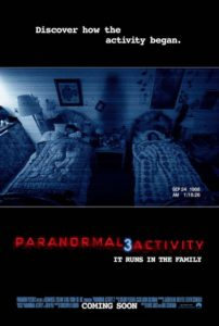 Paranormal Activity 3 - International poster