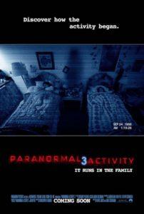 Paranormal Activity 3 - International poster