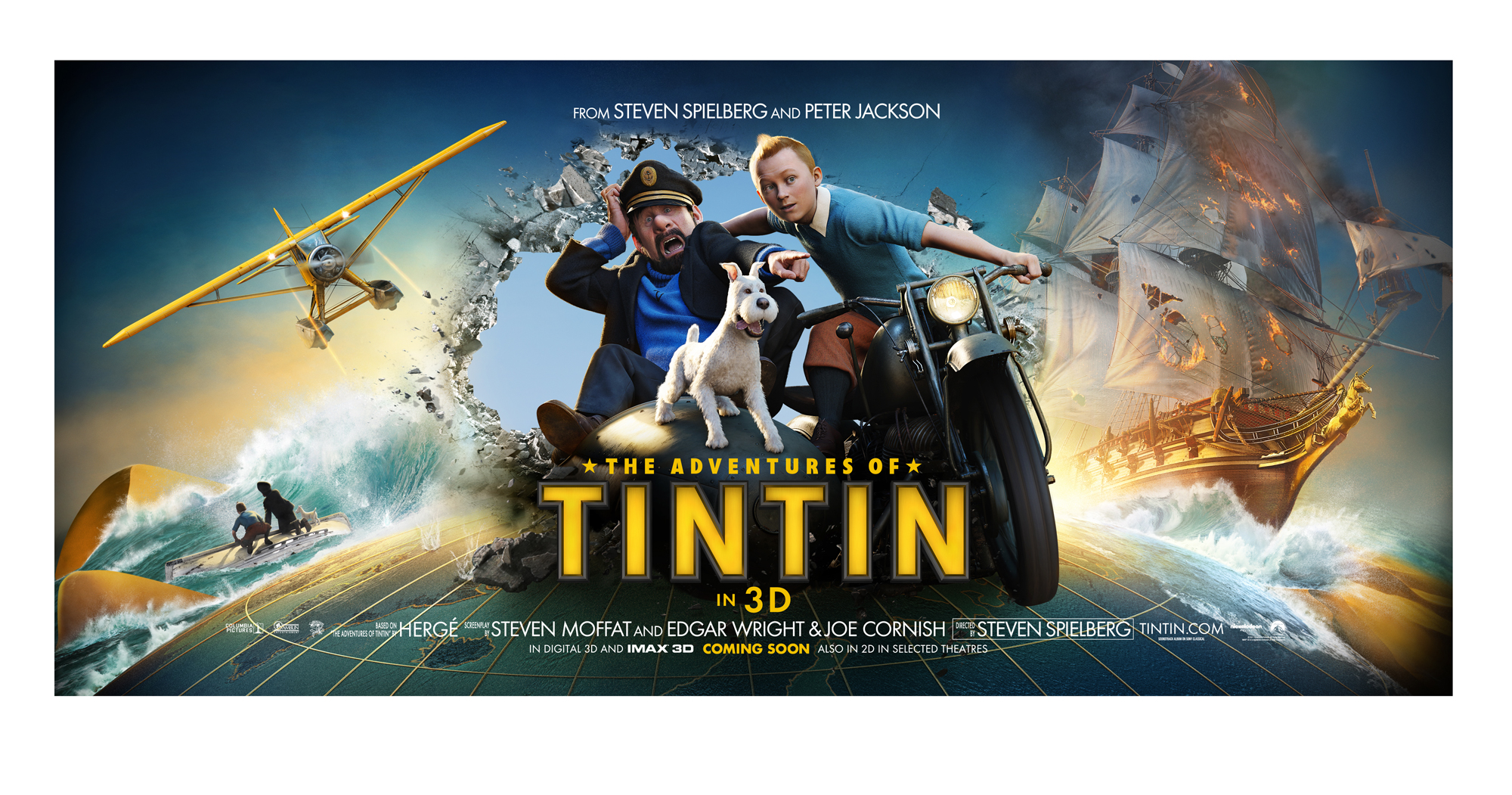 New standee poster for The Adventures of Tintin – The Reel ...