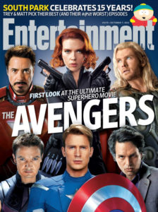Entertainment Weekly Avengers Cover